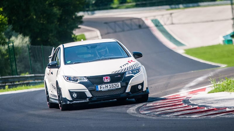 Honda Civic Type R Blitzes Five Iconic European Circuits