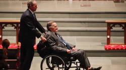 George Bush Sr. hospitalisé, quelques jours après le décès de sa