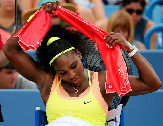 Beat the heat with Serena Williams' cooling gear