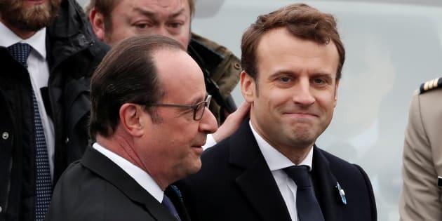 Hollande et Macron ensemble pour la Journée du souvenir de l'esclavage