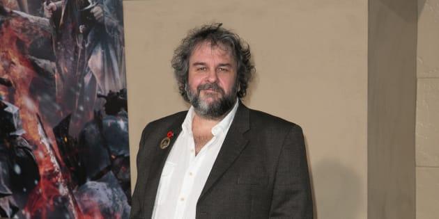 Peter Jackson en el estreno de 'El Hobbit'.