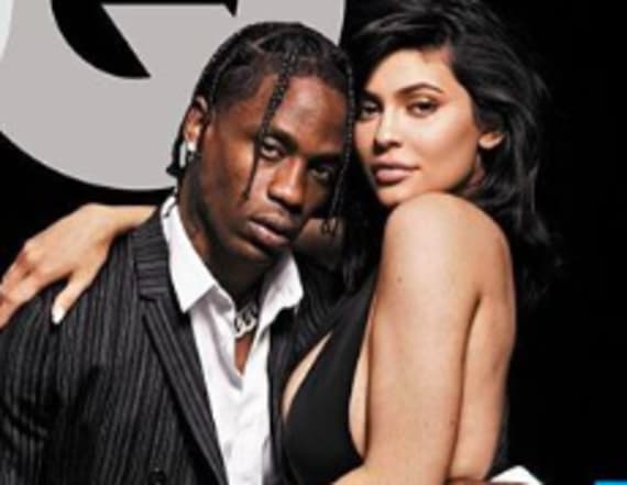 Kylie Jenner and Travis Scott cover GQ together