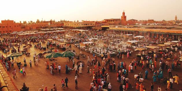 La place Jemaa el-Fna de Marrakech (Image d'illustration).