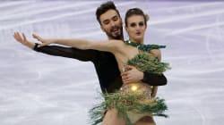 French Ice Dance Duo Overcome 'Nightmare' Wardrobe Malfunction To Win Silver