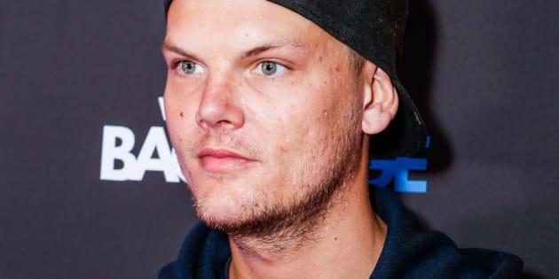 Le suédois DJ Avicci assiste aux GRAMMYS le 13 février 2016 à Los Angeles, en Californie.