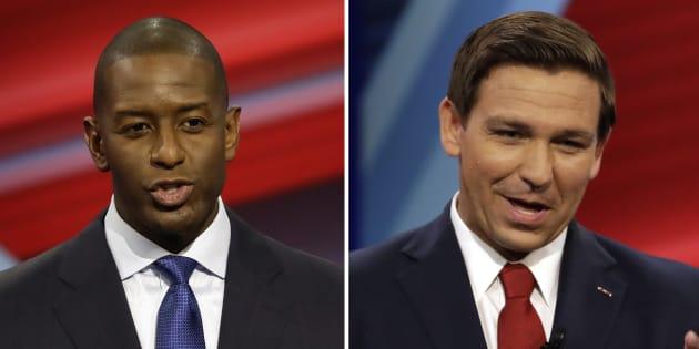 Le duel entre les candidats pour le poste de gouverneur de Floride, Andrew Gillum et Ron DeSantis, n'est pas terminé.