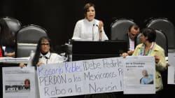 Que sigan buscando, revira Rosario Robles ante acusaciones de desvío de