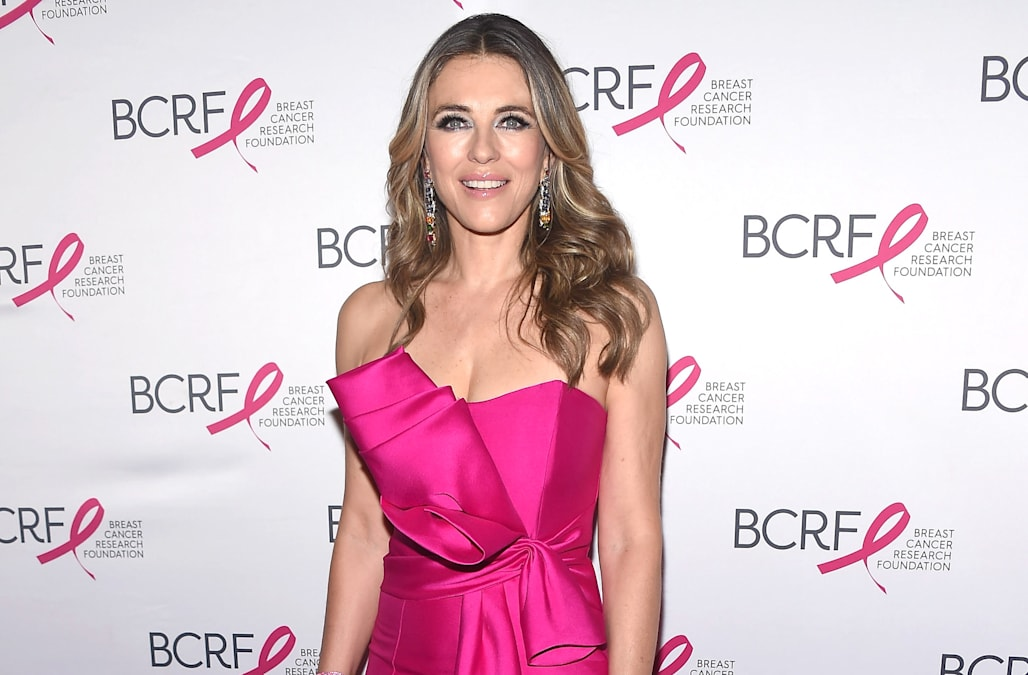 Elizabeth Hurley once took the red carpet in a dress held together by a few safety pins: Pics