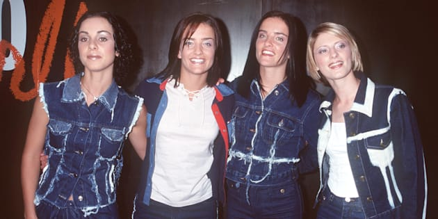 They were basically double-denim pioneers.