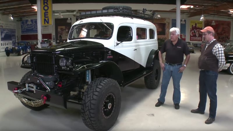 Modified Wwii Dodge Carryall Appears On Jay Leno S Garage Autoblog