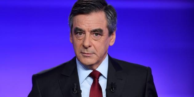 François Fillon le 24 novembre lors du débat face à Alain Juppé. REUTERS/Eric Feferberg/Pool