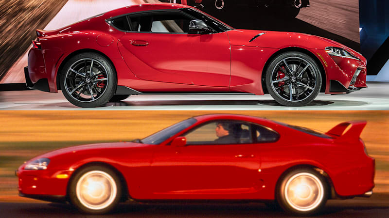 2020 Toyota Supra vs 1993 Toyota Supra: How they compare on paper