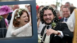 'Game Of Thrones' Stars Kit Harington And Rose Leslie Just Got Married in