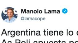 Las respuestas a este tuit de Manolo Lama sobre Argentina son lo mejor que verás