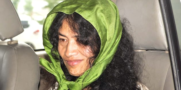 File photo of Manipur Human Rights activist Irom Chanu Sharmila.