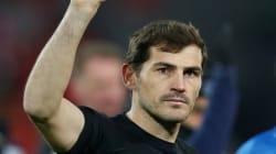 El aparatoso percance de Iker Casillas en un