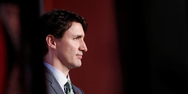 El primer ministro canadiense, Justin Trudeau, durante su gira en India.