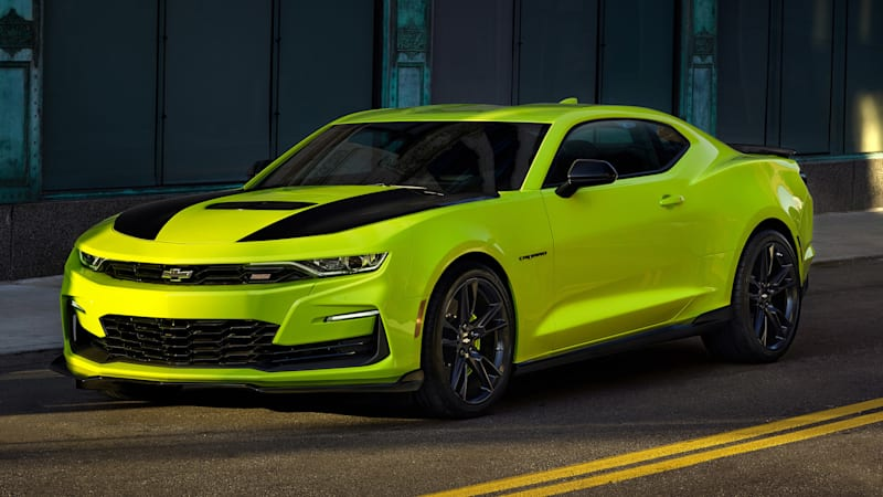 Chevy Certified Pre Owned >> 2019 Chevrolet Camaro SS front fascia reportedly being updated ASAP - Autoblog
