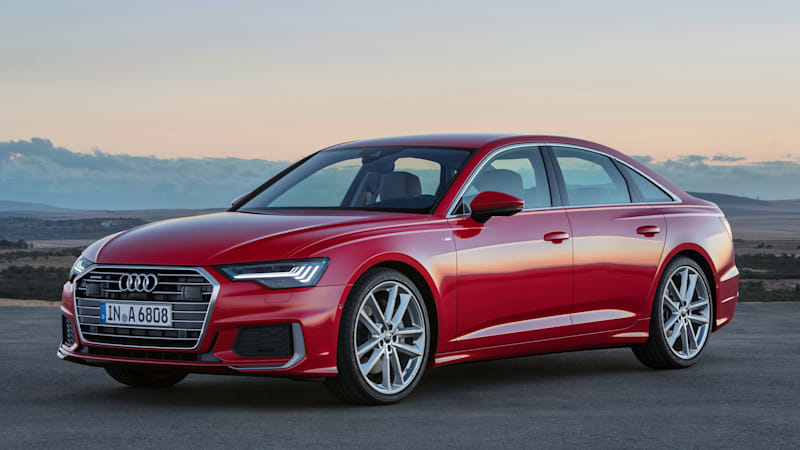 Audi S 2019 A6 Sedan Inherits Its Looks And Tech From The