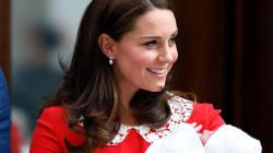 La robe que portait Kate Middleton à la sortie de l'hôpital a une symbolique