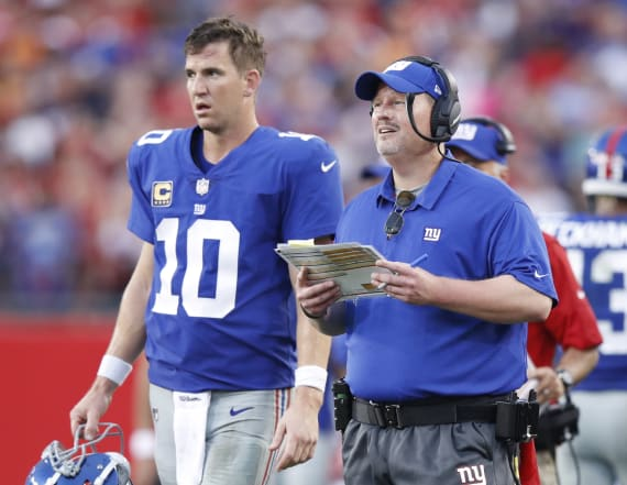 Ben McAdoo 'at peace' with Manning benching