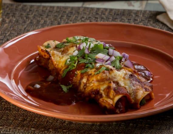 Best Bites: Cheesy chicken enchiladas