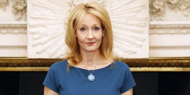 J.K. Rowling à Londres le 8 mai 2012.
