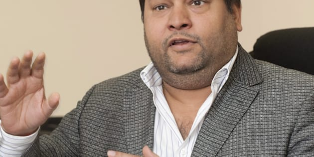Ajay Gupta during an interview with Business Day in Johannesburg, South Africa on 2 March 2011 regarding his professional relationships.