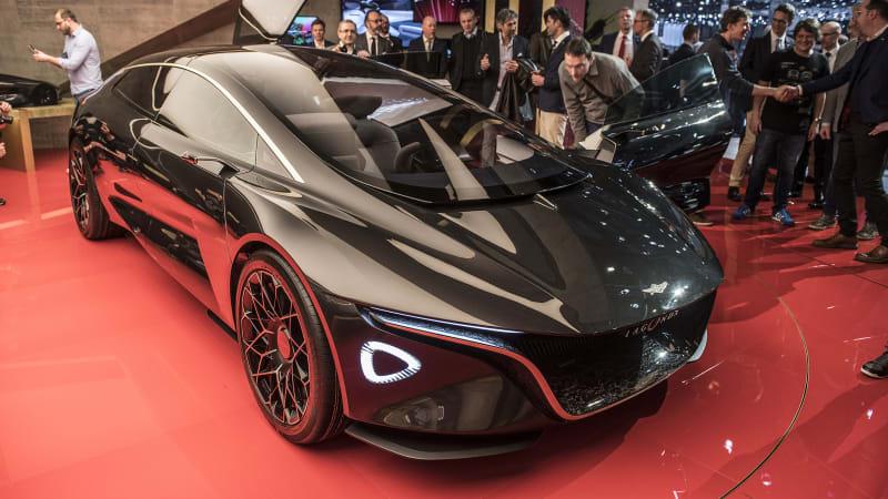 photo image Aston Martin lead designer doesn't fear the future
