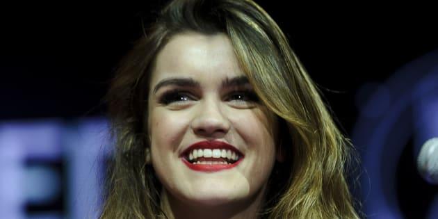 La cantante Amaia, fotografiada en Madrid el 24 de marzo de 2018.