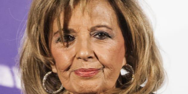 María Teresa Campos, en un evento en Madrid el 9 de noviembre de 2017 (Juan Naharro Giménez/Getty Images).