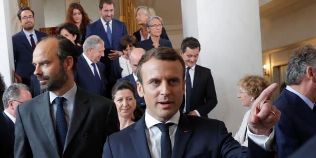 Emmanuel Macron arrasó en la primera vuelta — Legislativas en Francia