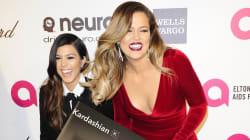 Khloe Kardashian a-t-elle une photo géante de sa sœur Kourtney en Jésus chez