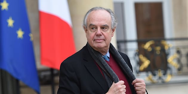 Frédéric Mitterrand à l'Elysée le 8 décembre 2015.