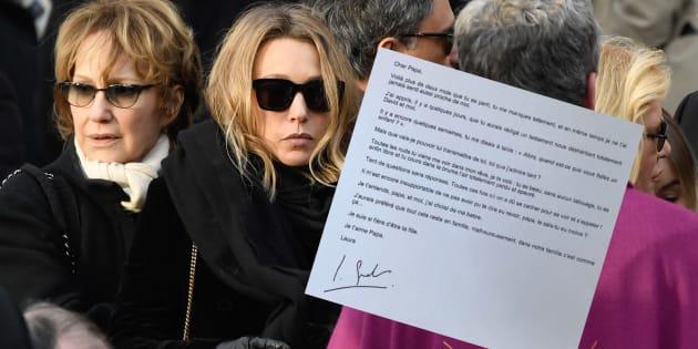 """Laura Smet veut contester le testament de son père Johnny Hallyday: """"j'ai choisi de me battre"""""""