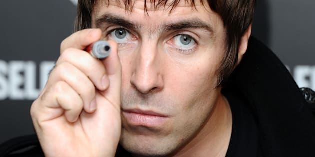 Liam Gallagher launches his new clothing range: Pretty Green, and signs autographs at Selfridges in London.