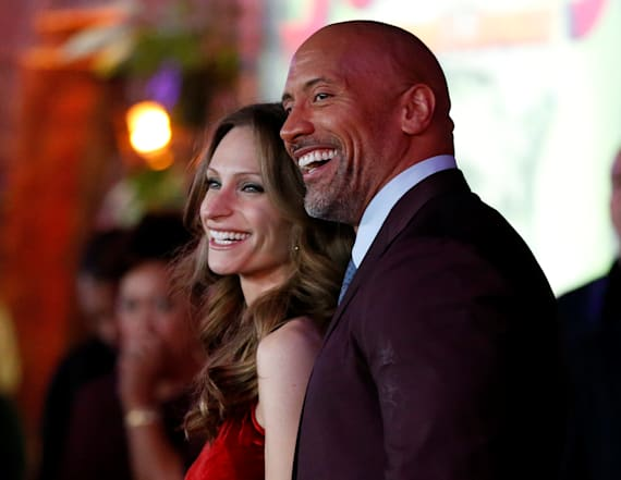 Dwayne Johnson is going to be a dad again