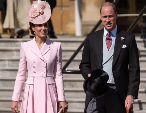 Kate Middleton dazzles in pink Alexander McQueen