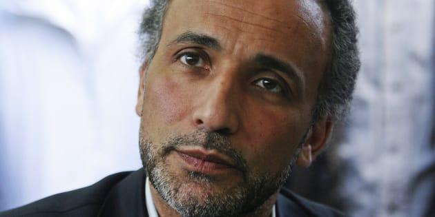 Le prédicateur Tariq Ramadan à Nantes au mois d'avril 2010.