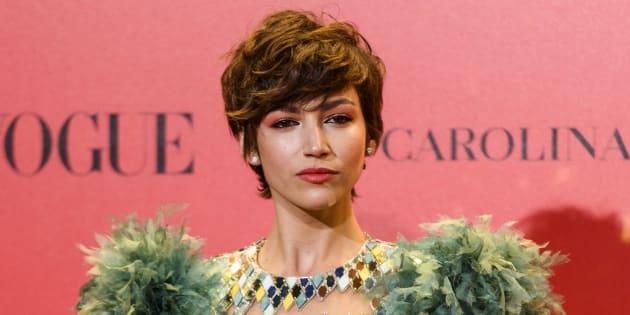 Úrsula Corberó en la fiesta del 30º aniversario de Vogue, el pasado 12 de julio.