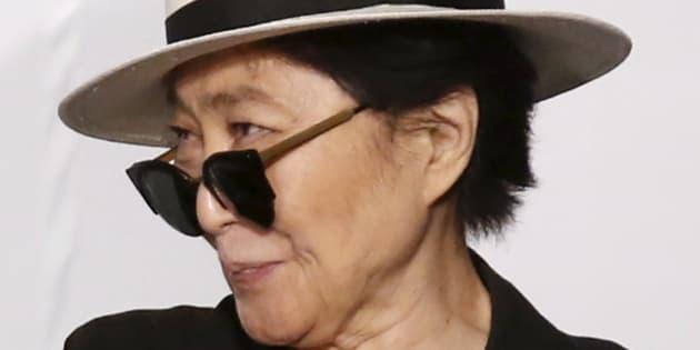 Coautora da música, Yoko só foi creditada pelo seu trabalho em 2017.