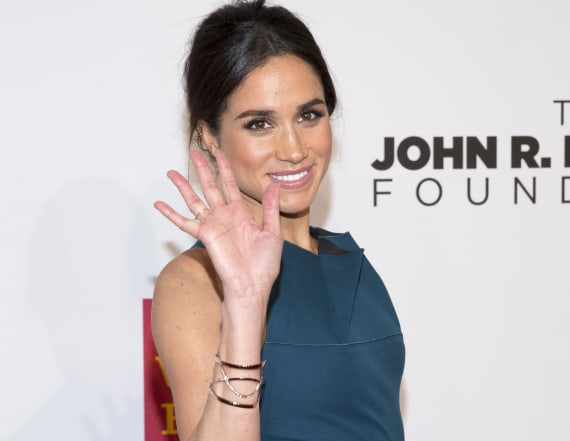 Everyone's staring at Meghan Markle's thumb