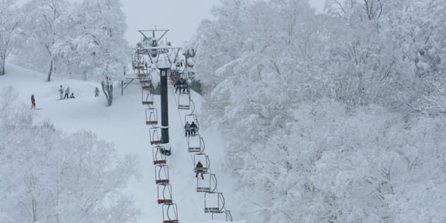 Nozawa Onsen ski resort is on the west coast.