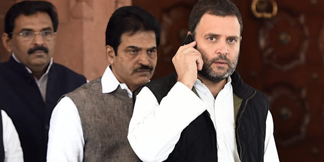 Congress vice president Rahul Gandhi in a file photo.