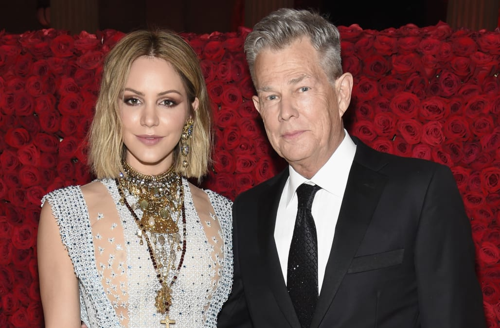 Katharine Mcphee And David Foster Are Engaged Aol Entertainment