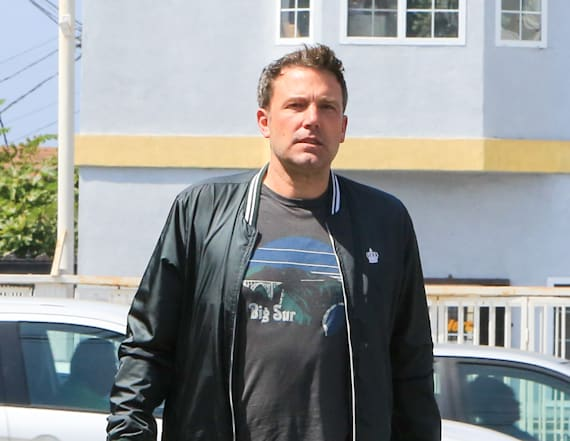 Playboy model spends night at Ben Affleck's