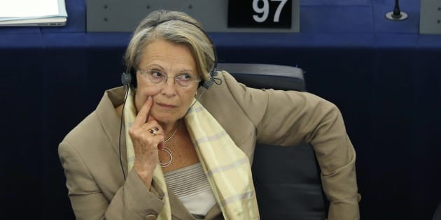 Michele Alliot-Marie au Parlement européen.