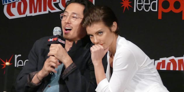 Will Season 7 be the end for The Walking Dead's cutest couple Glenn (Steven Yeun) and Maggie (Lauren Cohan)?