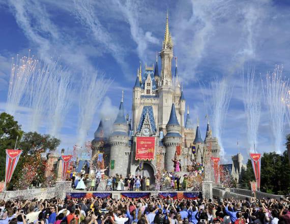 Striking photos show empty Disney World