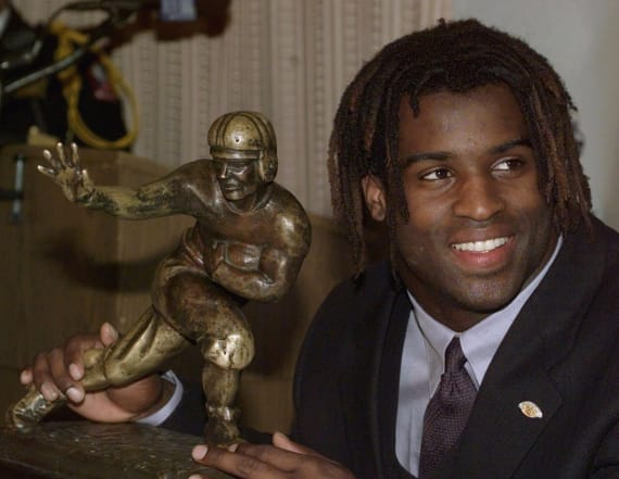 Record amount paid for 1998 Heisman Trophy
